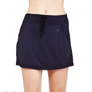Icebreaker Merino Women's Zoya Black Short Skirt L